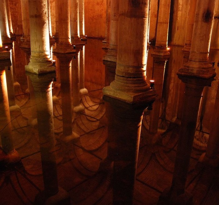 Basilica Cistern - Reflection on Water